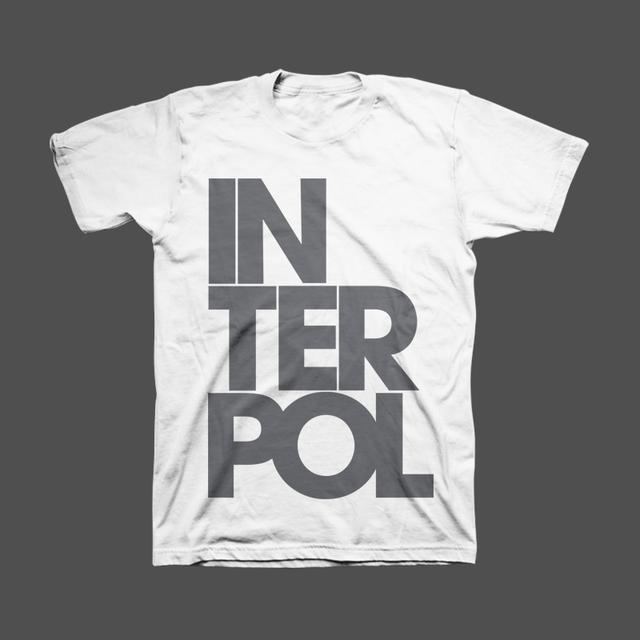 Interpol Stacked Unisex Tee