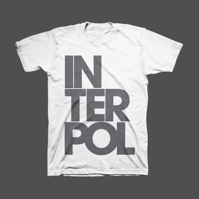 Interpol Stacked Unisex Tee