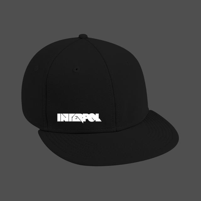 Interpol Boxy Logo Snap Back Hat