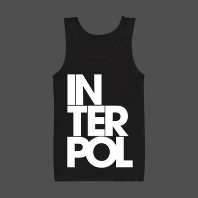 Interpol Stacked Unisex Tank