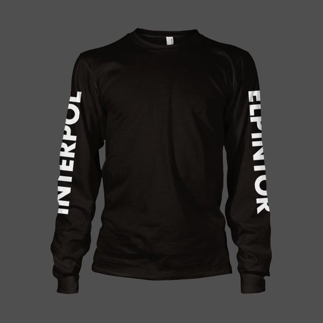 Interpol El Pintor Long Sleeve Tee