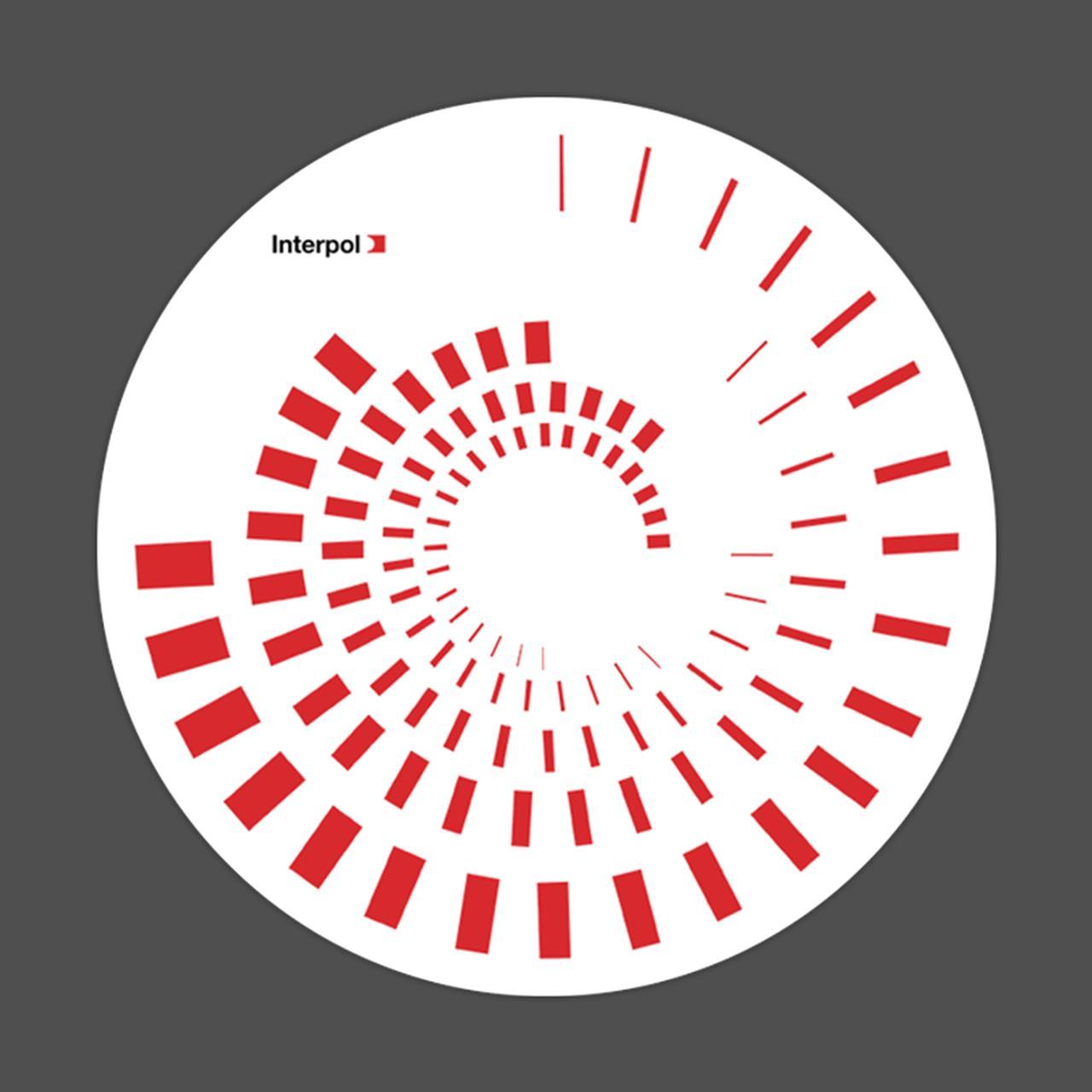 Interpol Swirling Vinyl Slipmat