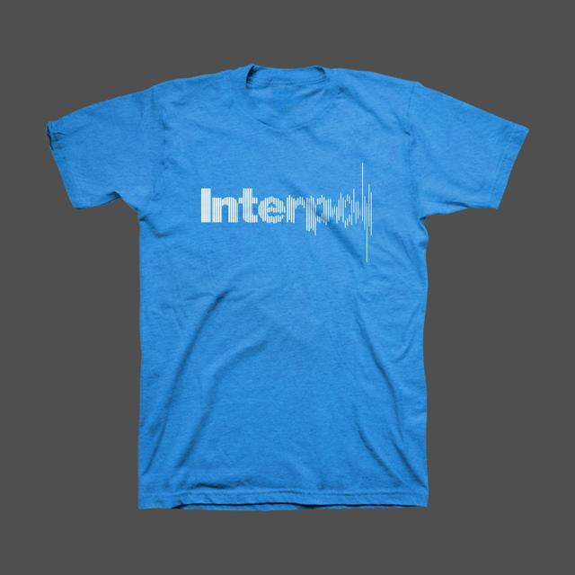 Interpol Disruption Unisex Tee (Blue)
