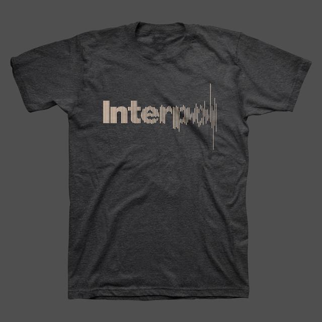 Interpol Disruption Unisex Tee (Charcoal Heather)