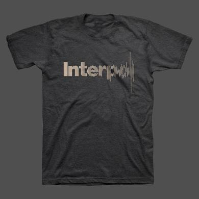 Interpol Disruption Unisex Tee (Charcoal Heather)