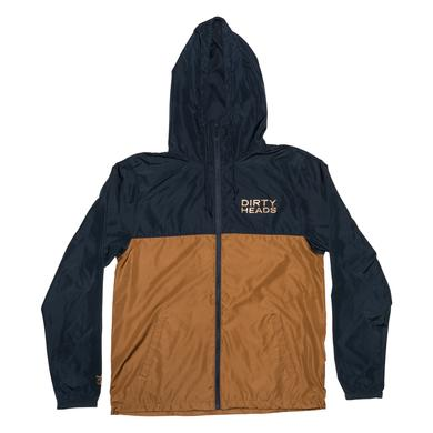 Dirty Heads Octopus Windbreaker - Navy/Copper