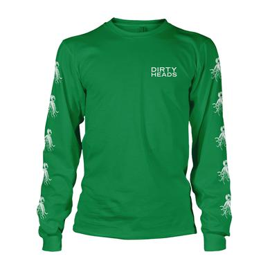 Dirty Heads LIMITED -  Irish Green Octopus Longsleeve