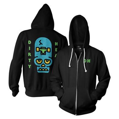 Dirty Heads Skate Skull Zip Hoodie