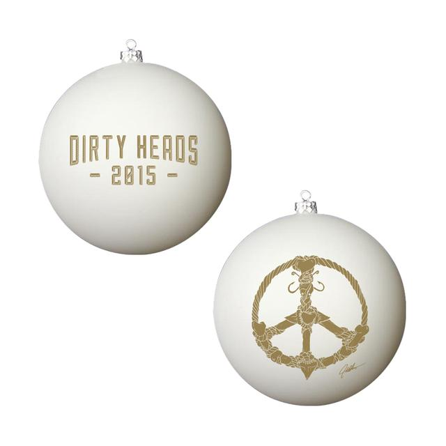 Dirty Heads 2015 Shark Teeth Ornament