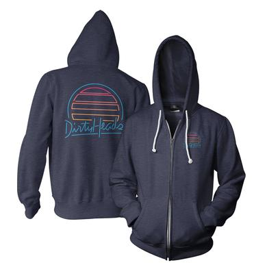 Dirty Heads Neon Sunset Zip-Up Hoodie