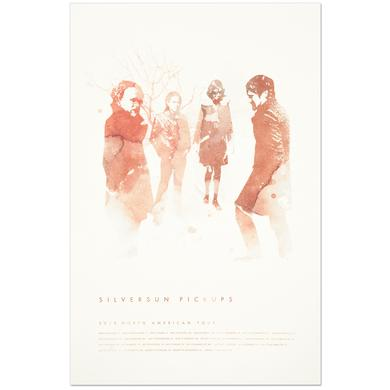 Silversun Pickups Water Color Lithograph