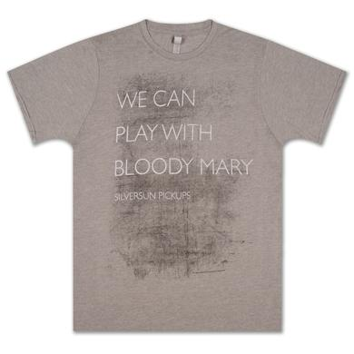 Silversun Pickups Bloody Mary Text T-Shirt