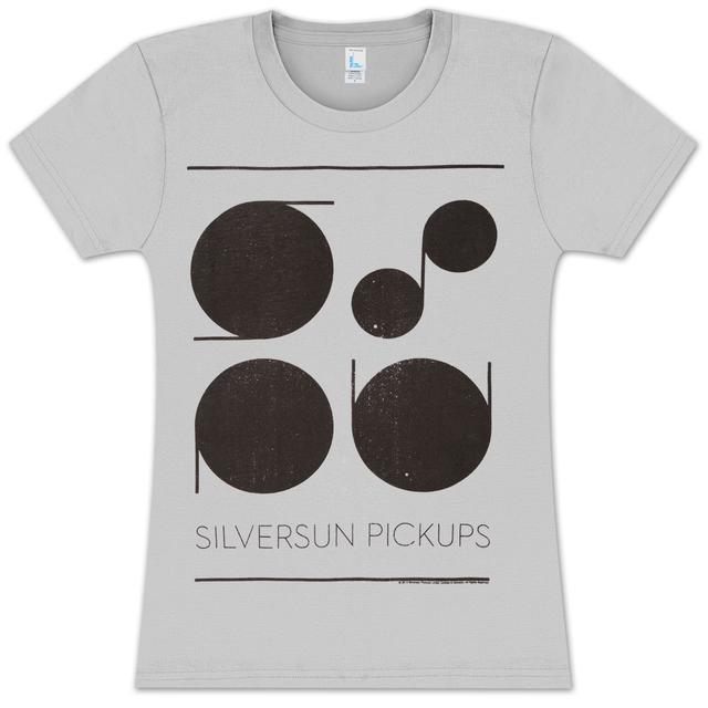 Silversun Pickups Minimalist Acronym Junior T-Shirt