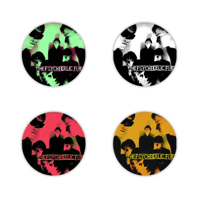 Psychedelic Furs Album Cover Button Set