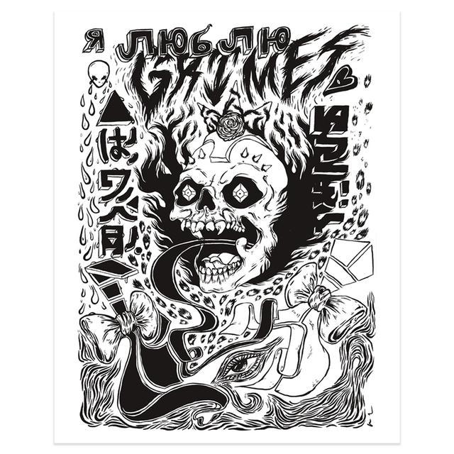 Grimes Visions Art Print