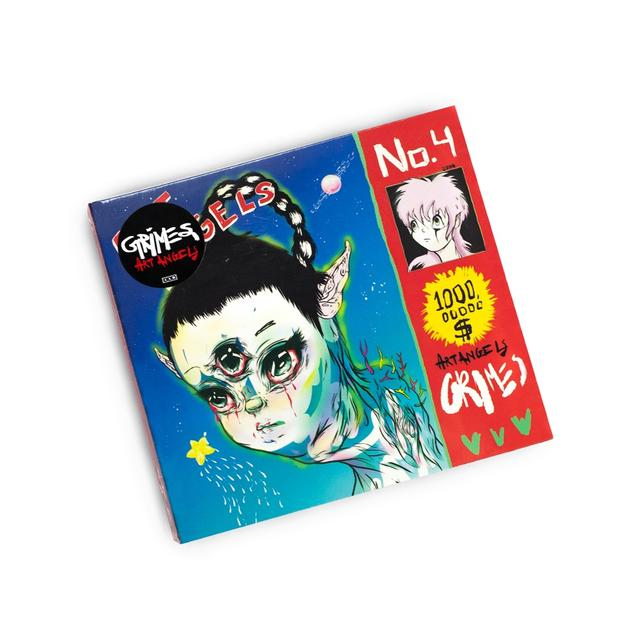 Grimes Art Angels CD