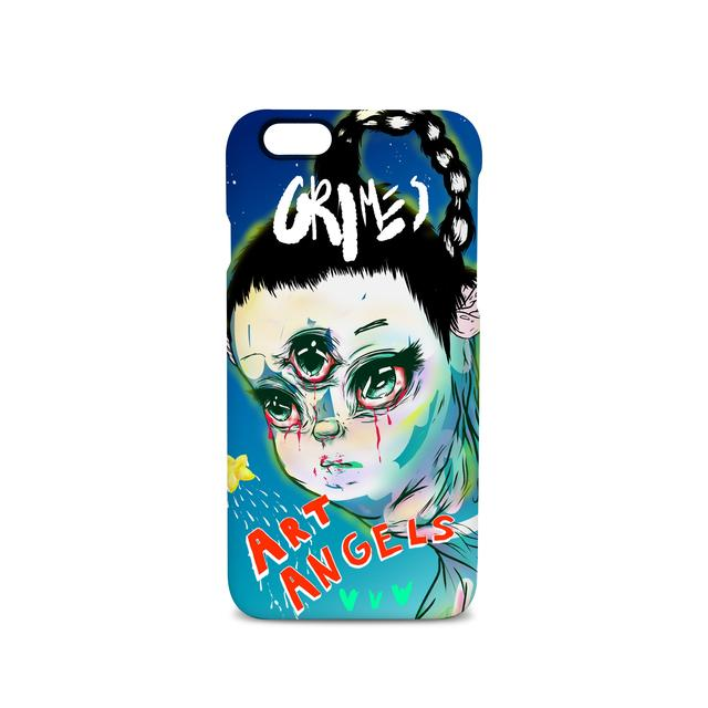 Grimes Art Angeles 4 iPhone Case