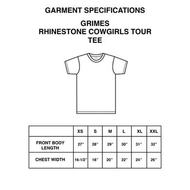Grimes Rhinestone Cowgirls Tour Tee