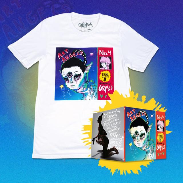 Grimes Art Angels LP and Shirt Bundle (Vinyl)