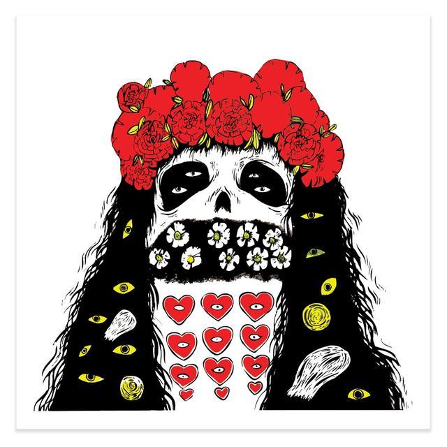 Grimes Geidi Art Print