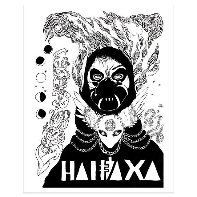 Grimes Halfaxa Art Print