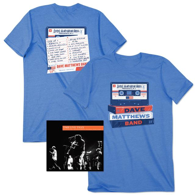 DMB Live Trax 33 CD + T-Shirt Bundle