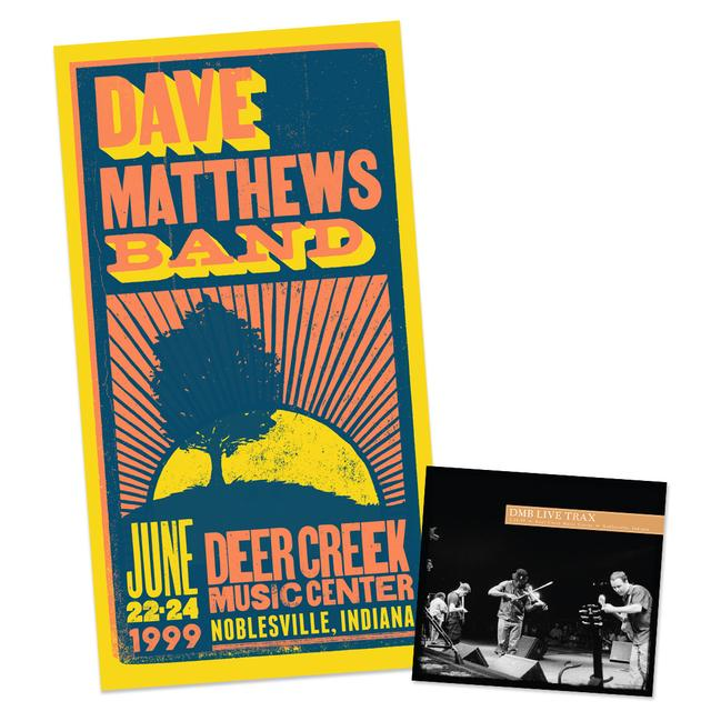 DMB Live Trax 34: CD + Poster Bundle
