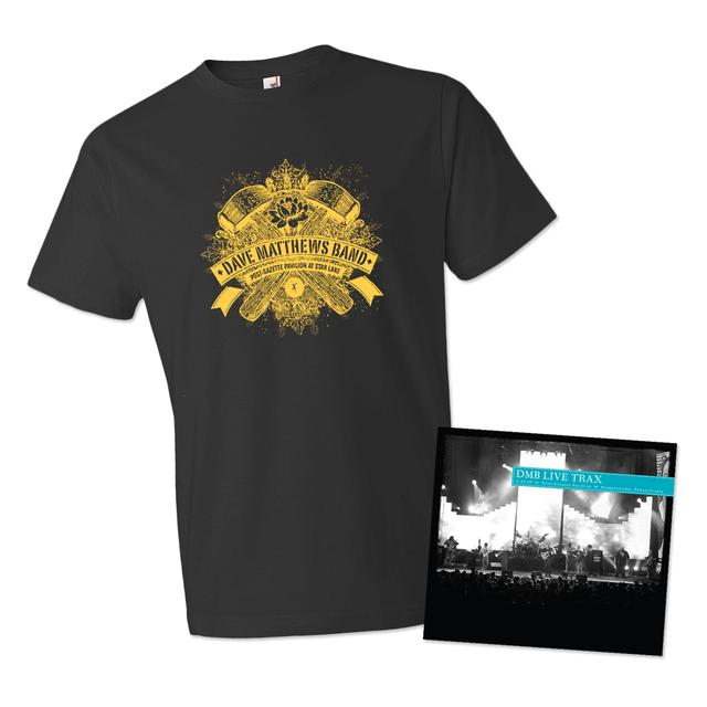 Dave Matthews Live Trax Vol. 35 Men's T-shirt Bundle