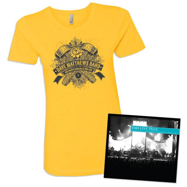 Dave Matthews Live Trax Vol. 35 Women's T-shirt Bundle