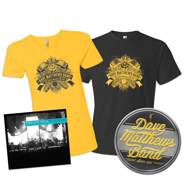 DMB Live Trax Vol. 35 + Tee + Metal Sign Bundle