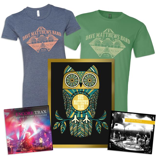 Dave Matthews Band Live Trax Vol. 36: Alpine Valley 2-DVD / 3-CD Set + Poster + Tee + Encore Trax Bonus