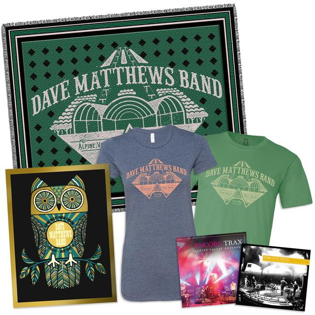 Dave Matthews Band Live Trax Vol. 36: Alpine Valley 3-CD + Poster + Throw Blanket + Tee + Encore Trax Bonus