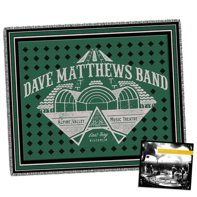 Dave Matthews Live Trax Vol. 36: Alpine Valley + Throw Blanket