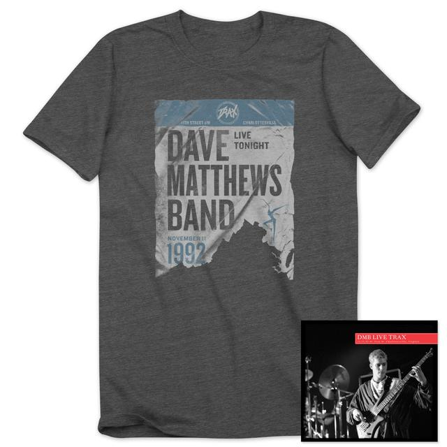 DMB Live Trax Vol. 37 CD + Men's T-Shirt