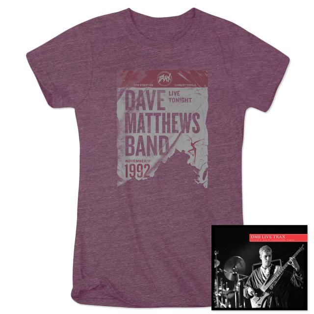 DMB Live Trax Vol. 37 CD + Women's T-Shirt
