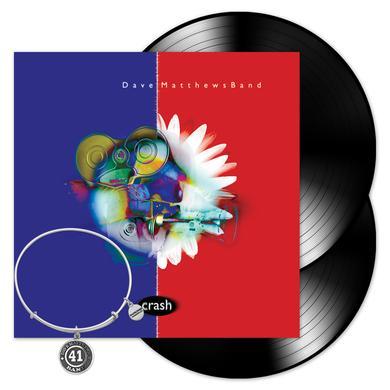 Dave Matthews Crash 2-LP Vinyl + Crash #41 Bracelet