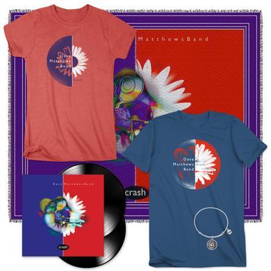 Dave Matthews Crash 2-LP Vinyl Deluxe Bundle
