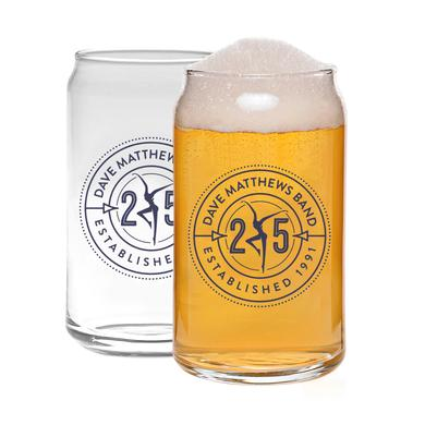 DMB 25th Anniversary Faux Can Pint Glass
