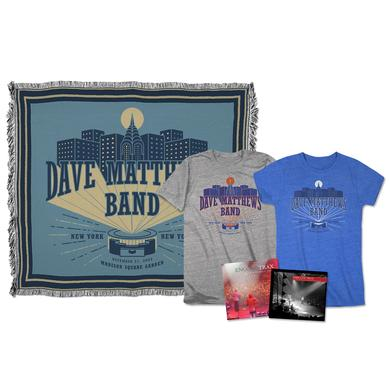 Dave Matthews Live Trax Vol. 40: Madison Square GardenBlu-ray, DVD or CD + T-shirt + Throw