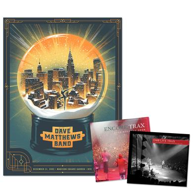 Dave Matthews Live Trax Vol. 40: Madison Square GardenBlu-ray, DVD or CD + Poster