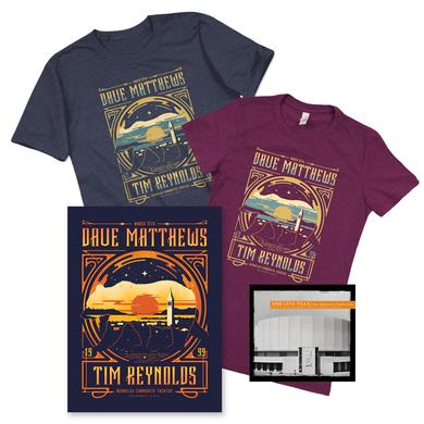 Dave Matthews Band Live Trax Vol. 41 + T-shirt + Poster Bundle
