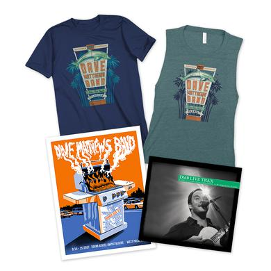 Dave Matthews Band Live Trax Vol. 42 + T-shirt + Poster Bundle
