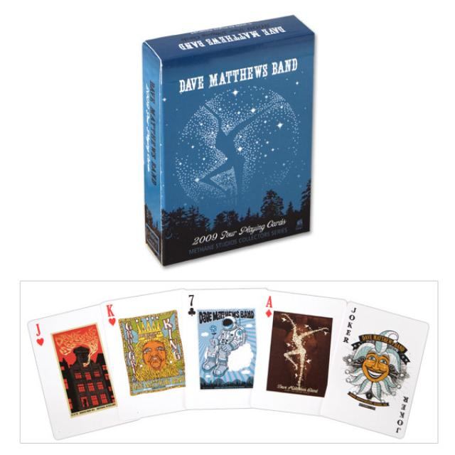 DMB 2009 Tour Poster Playing Cards