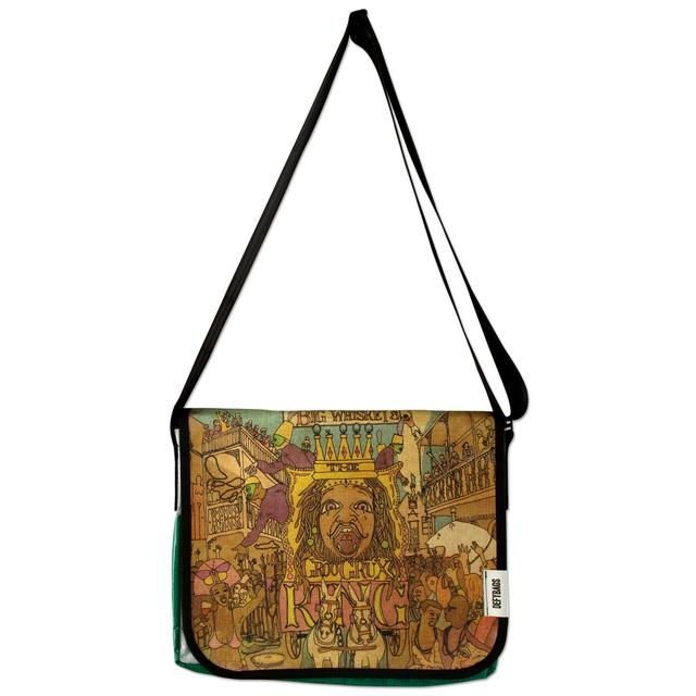 Dave Matthews Recycled Billboard Big Whiskey Messenger Bag