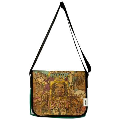 Dave Matthews Band Recycled Billboard Big Whiskey Messenger Bag