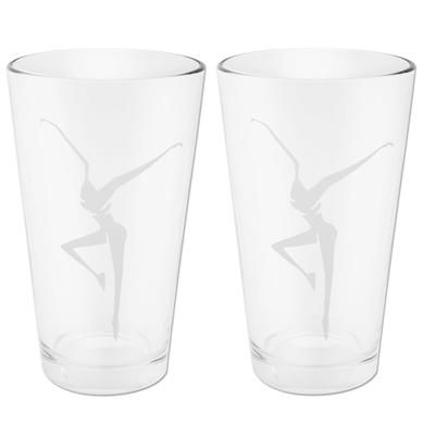 DMB Pair of 16oz Etched Pint Glasses