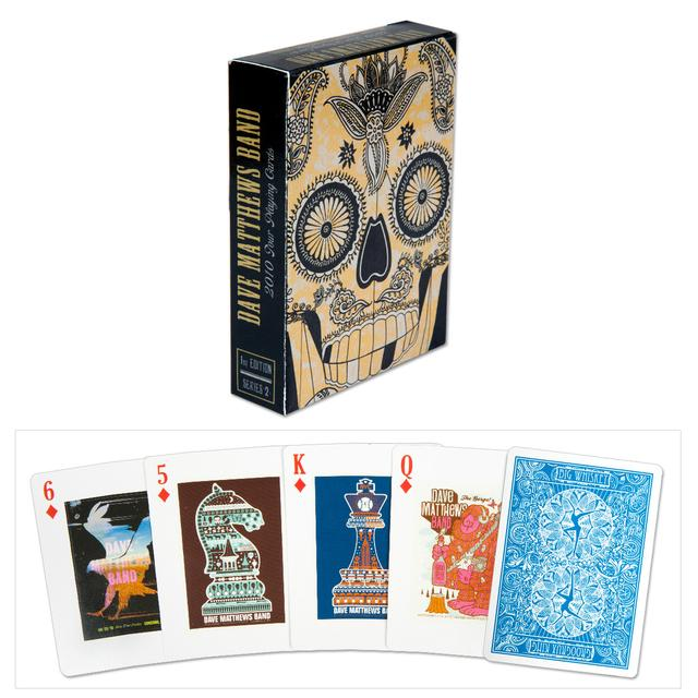 DMB 2010 Tour Poster Playing Cards