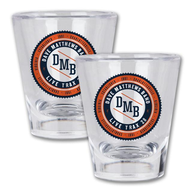 DMB Live Trax Vol. 28 Shot Glass