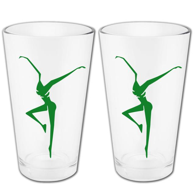 DMB Limited Edition Lucky Green Logo Pint Glass Set