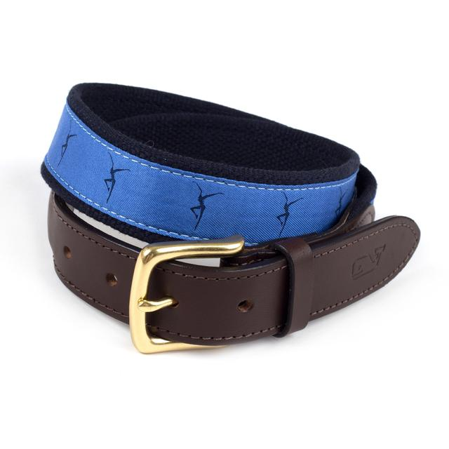 (Limited Edition) DMB - Vineyard Vines Canvas Club Belt - Royal
